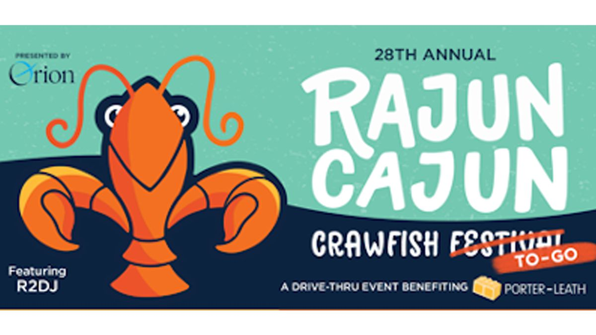 Win a crawfish bucket and T-shirt from Rajun Cajun Festival to-go!