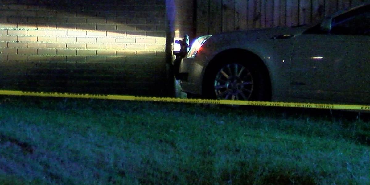 Teen arrested after crashing stolen car, causing gas leak