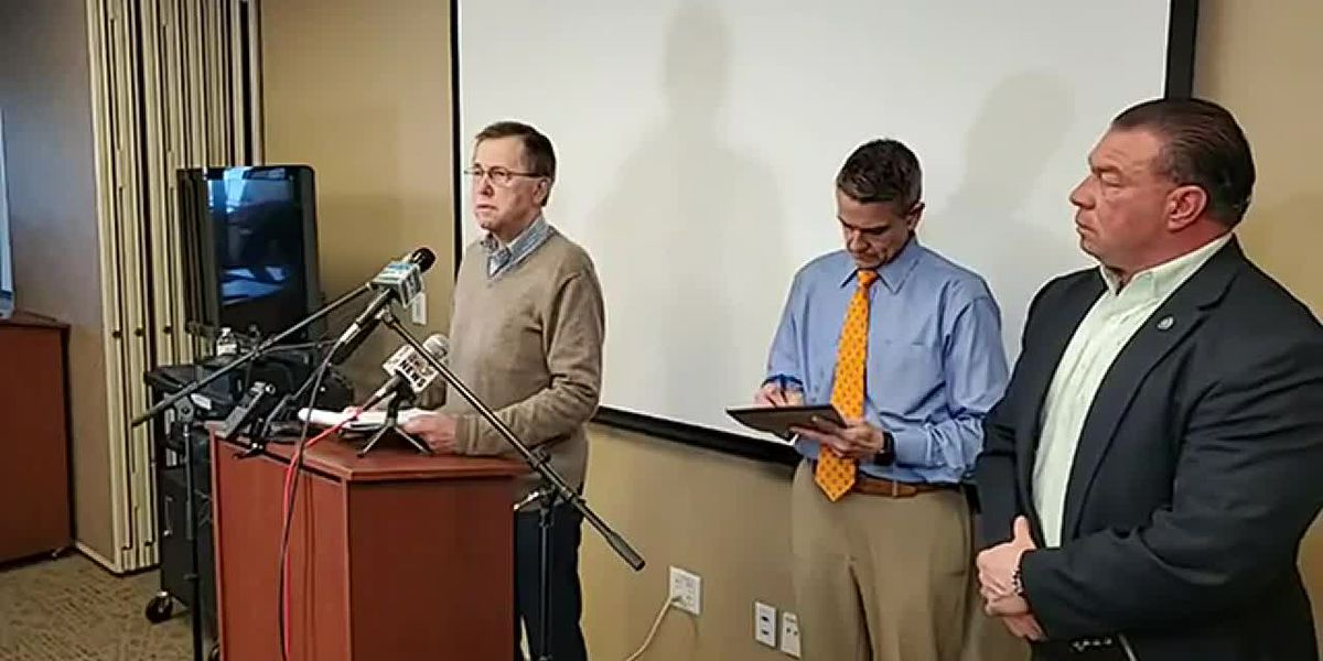 Putnam County Mayor holds news conference concerning deadly tornadoes