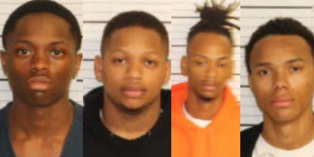 4 men charged with first-degree murder in Valero gas station double homicide