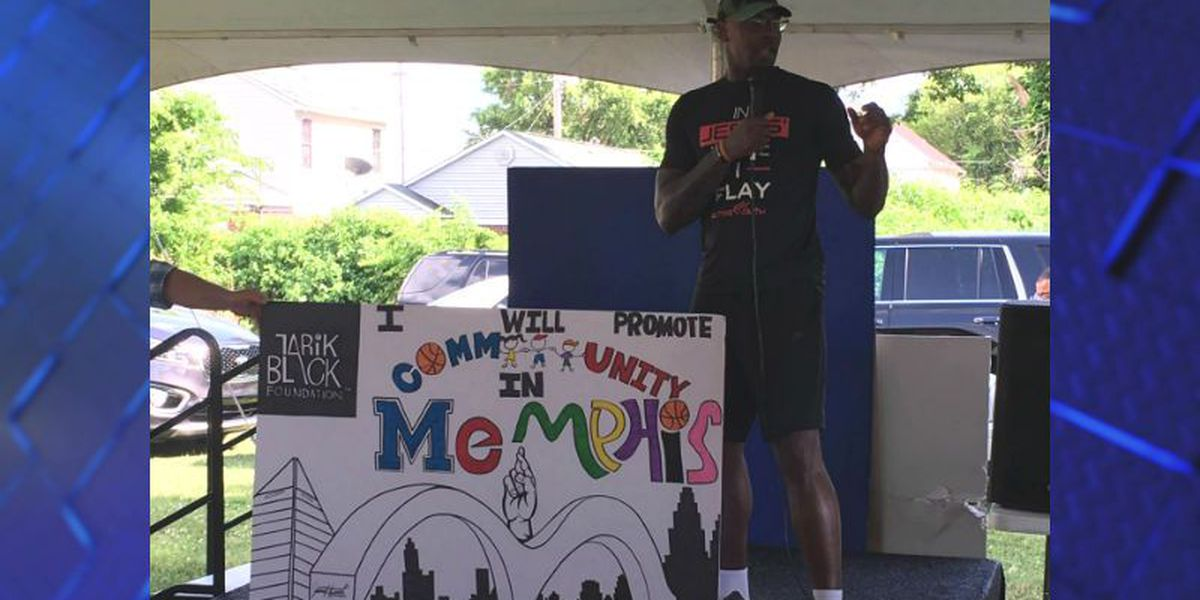Basketball star Tarik Black hosts 'Righteous Revolution' rally