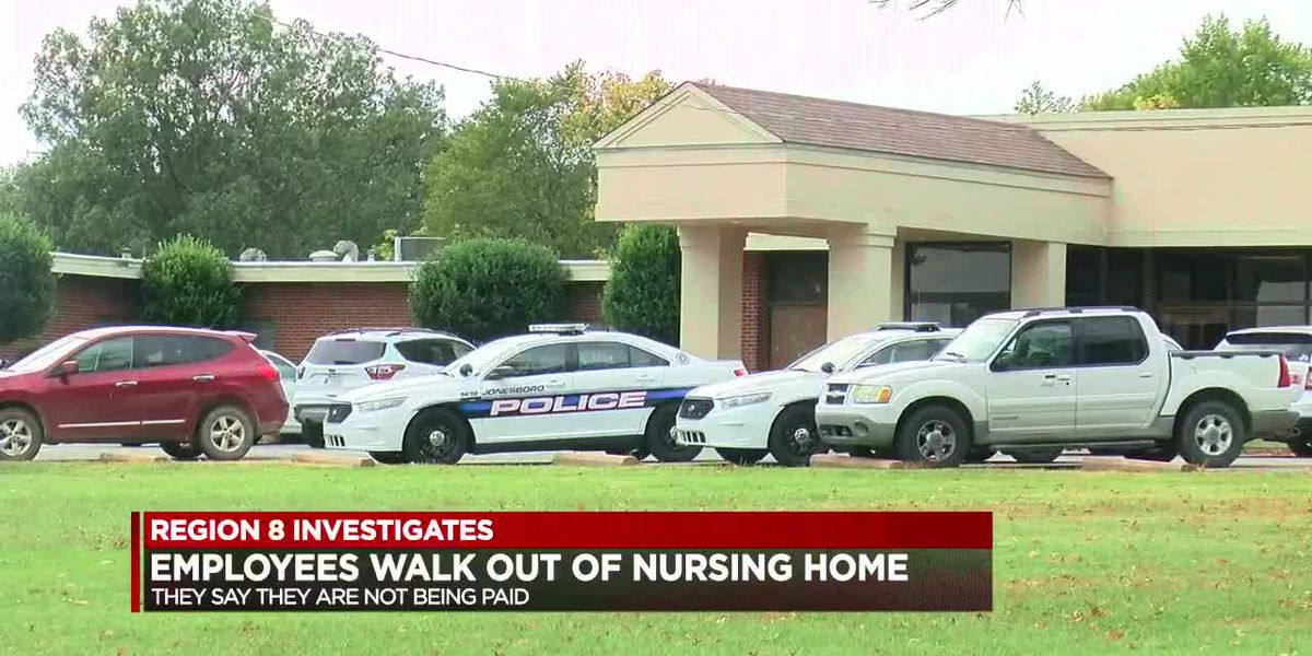 Nursing home accused of not paying its employees