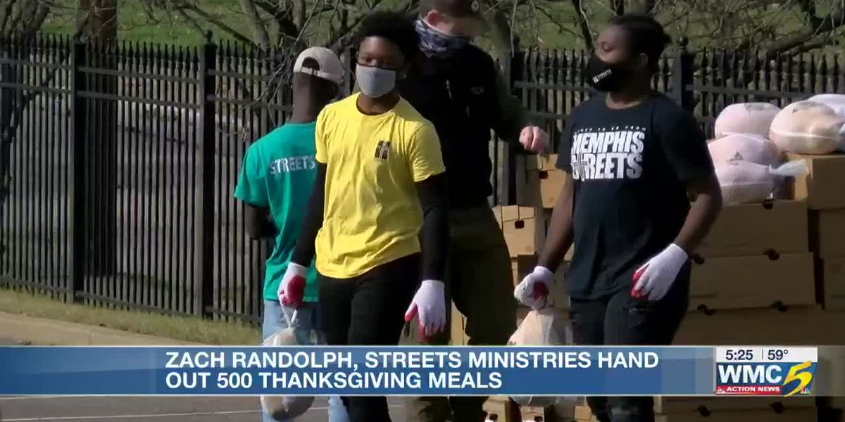 Former Memphis Grizzly, Street Ministries Stepping Up to donate Thanksgiving boxes to hundreds of families