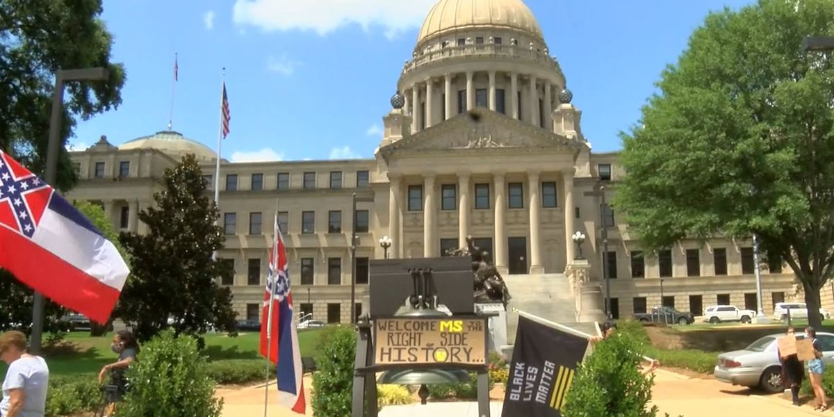 Mississippians react to bill removing state flag as it awaits governor's signature