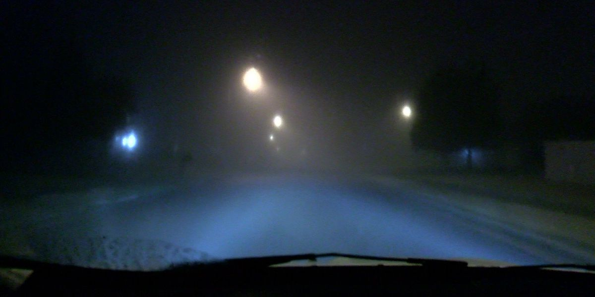 Fog rolls out of Mid-South