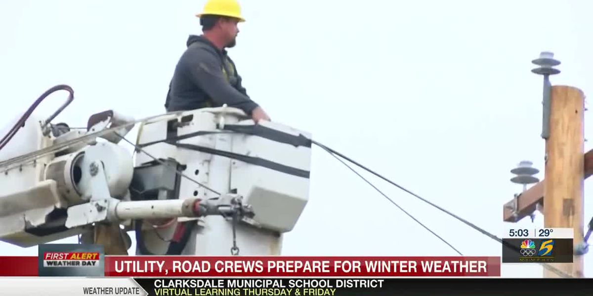 Mid-South utility, road crews prepare for winter weather