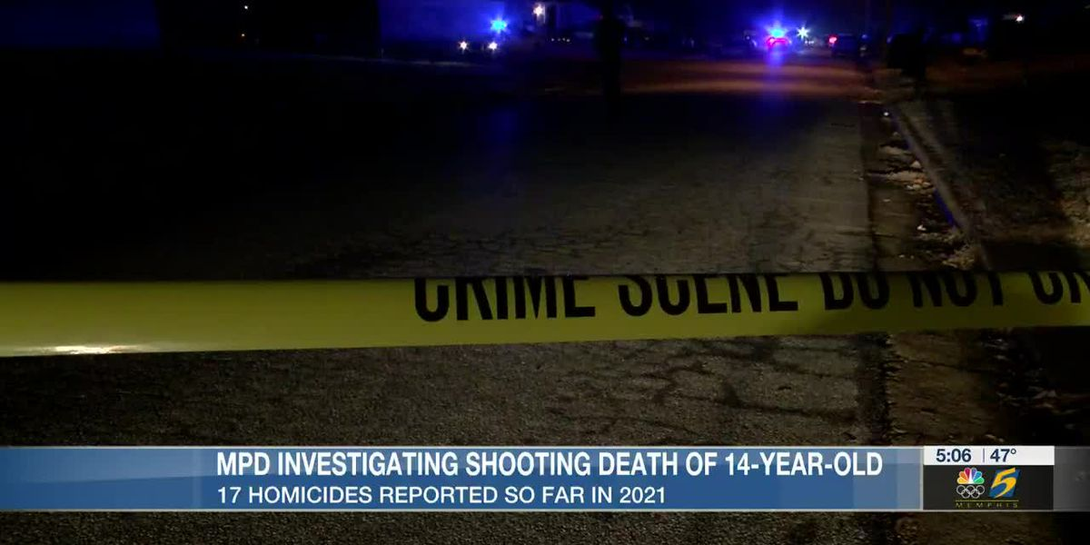 14-year-old becomes second juvenile homicide victim in Memphis this year