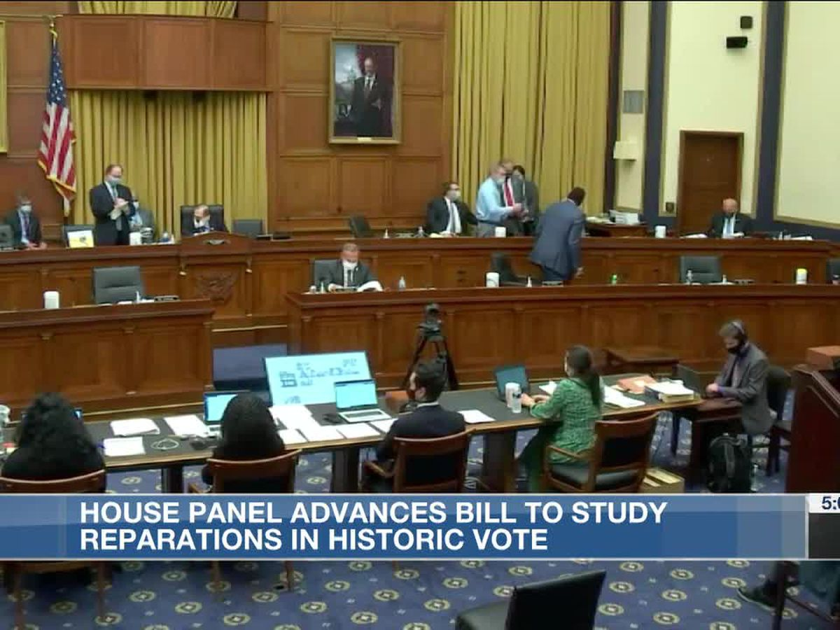 House Committee advances bill on slavery reparations