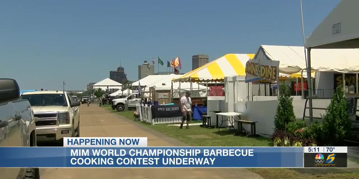 MM World Championship Barbecue Cooking Contest underway