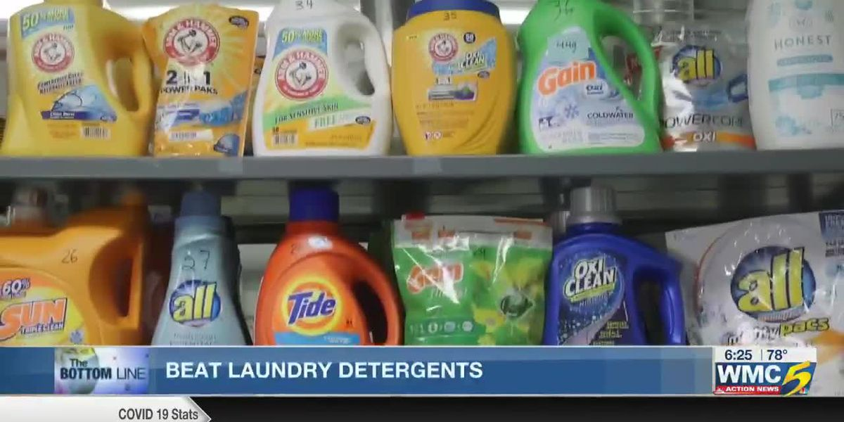 Bottom Line: Beat laundry detergents