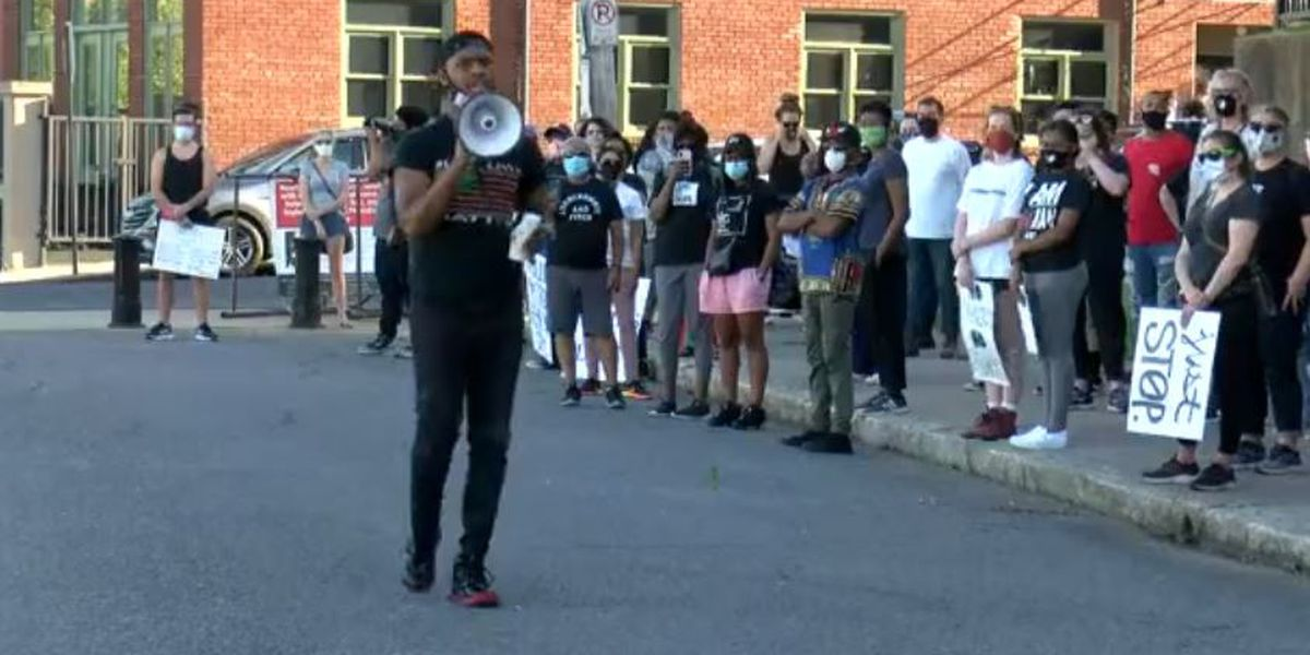 Day 4 of protests against police brutality remain peaceful in Memphis