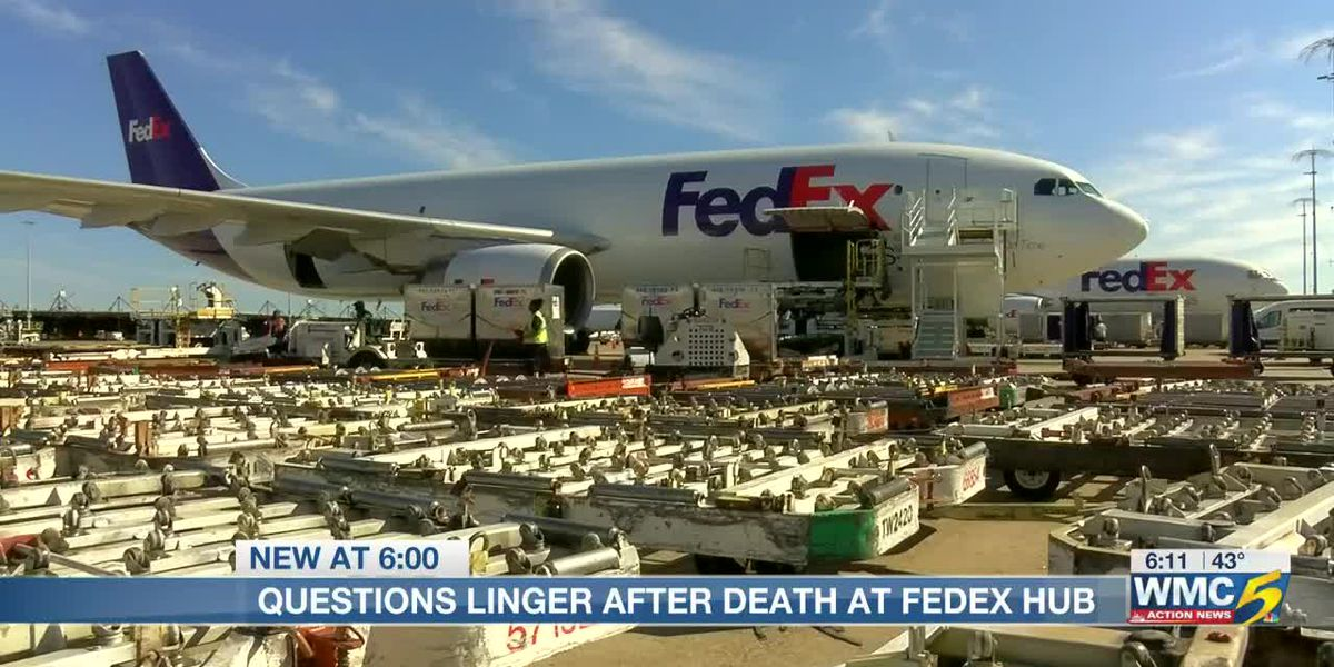 Questions linger after death at FedEx Hub