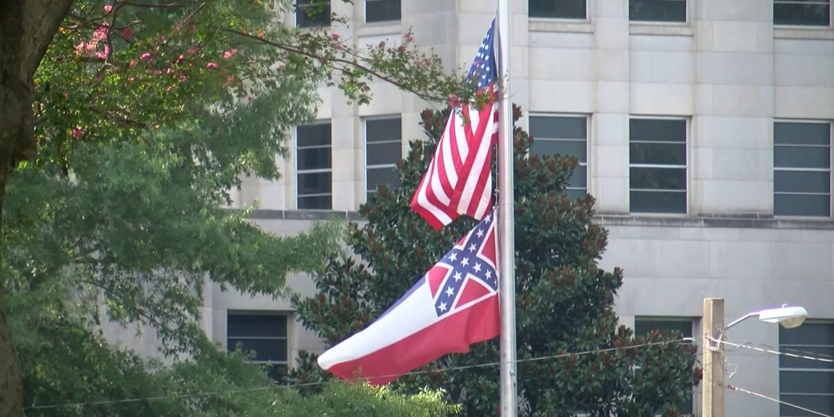 Having 2 state flags 'well-intentioned' but 'does not meet the threshold,' says Gov. Reeves