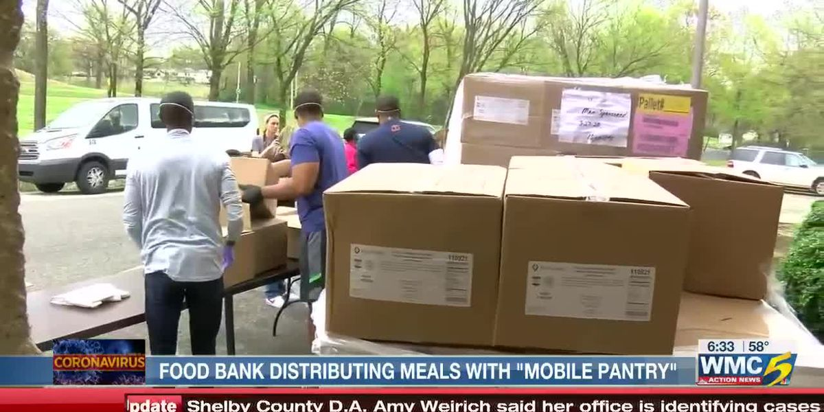 Mid-South Food Bank distributing to those in need via 'Mobile Food Pantries'