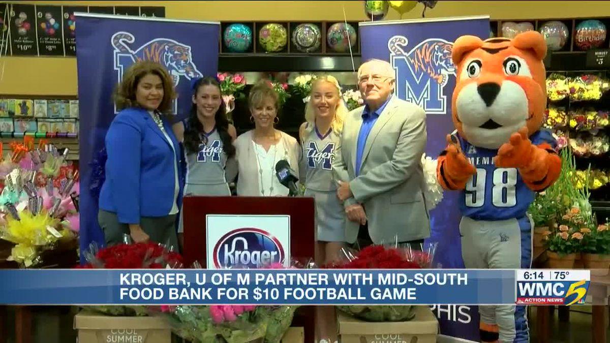 UofM, Kroger Mid-South Food Bank partner for Zero Hunger, Zero Ways Football Game