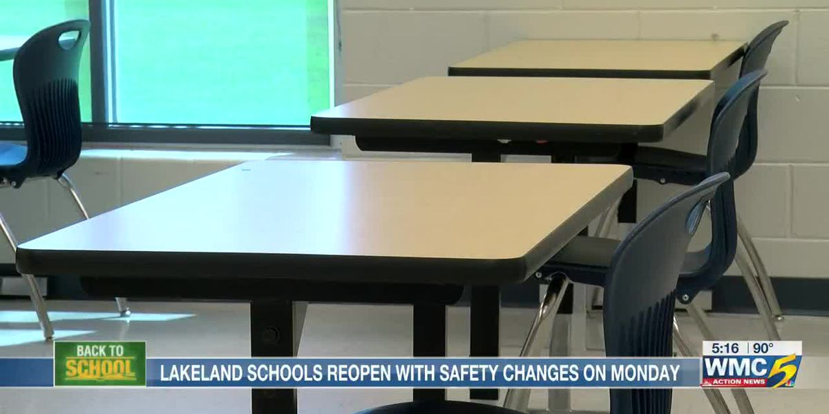 Lakeland schools reopen Monday with safety changes