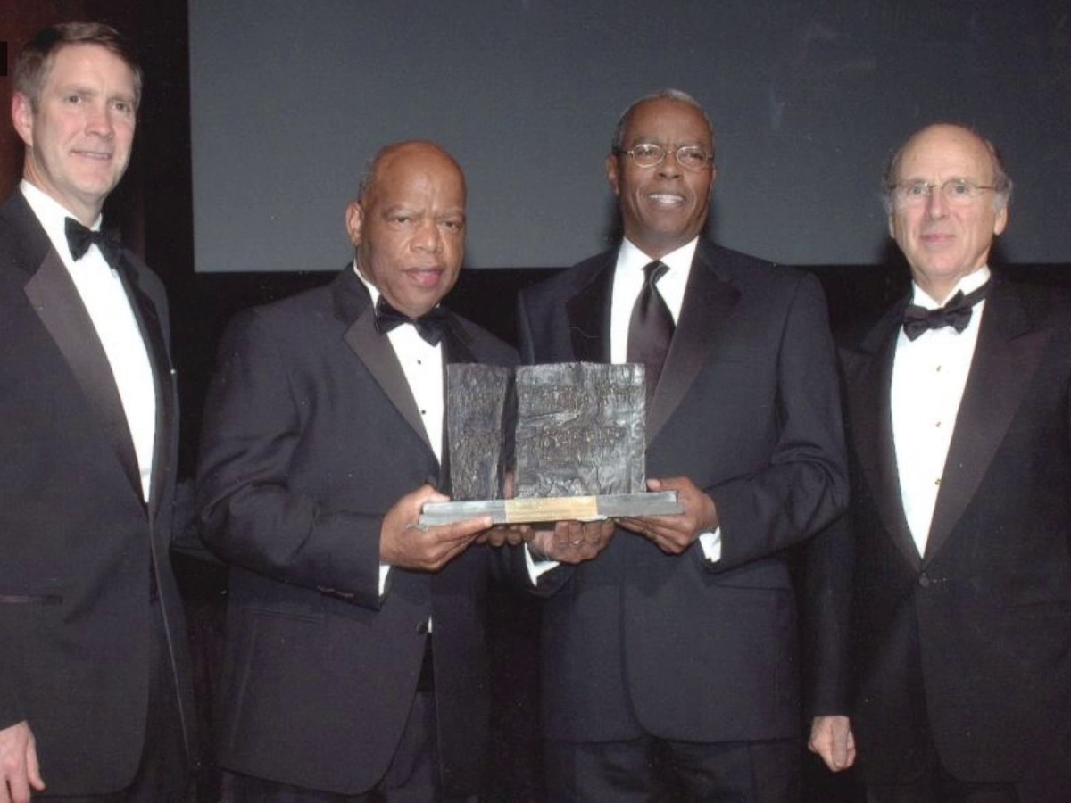 A look back at John Lewis' visits to Memphis