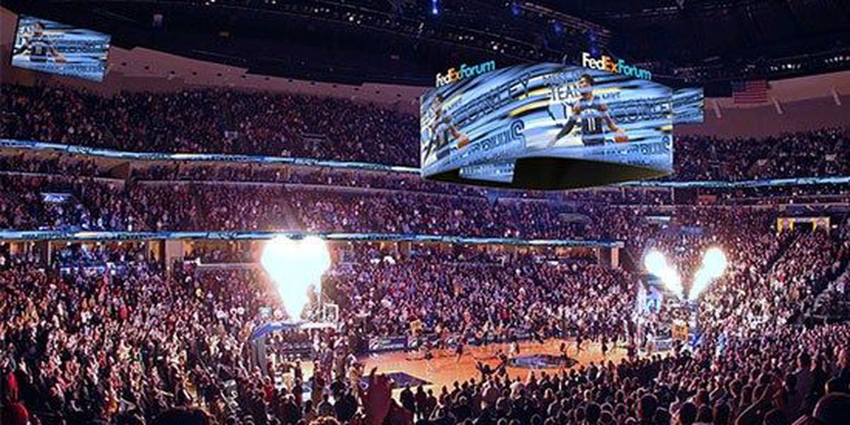 New video board, HD screens to adorn FedExForum