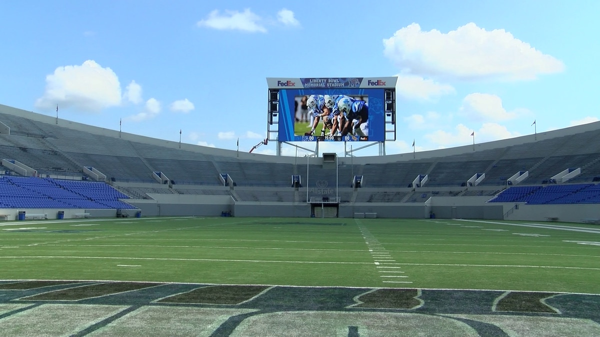SCS combine draws hundreds of high school players to Liberty Bowl