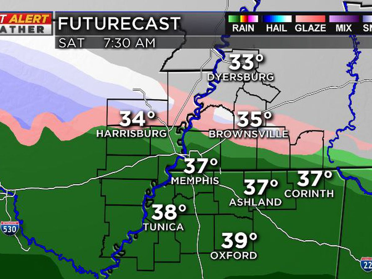 FIRST ALERT: Wintry mix possible this weekend