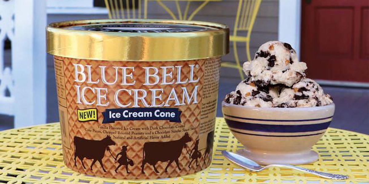 Limited Edition: Blue Bell releases 2 new ice cream flavors