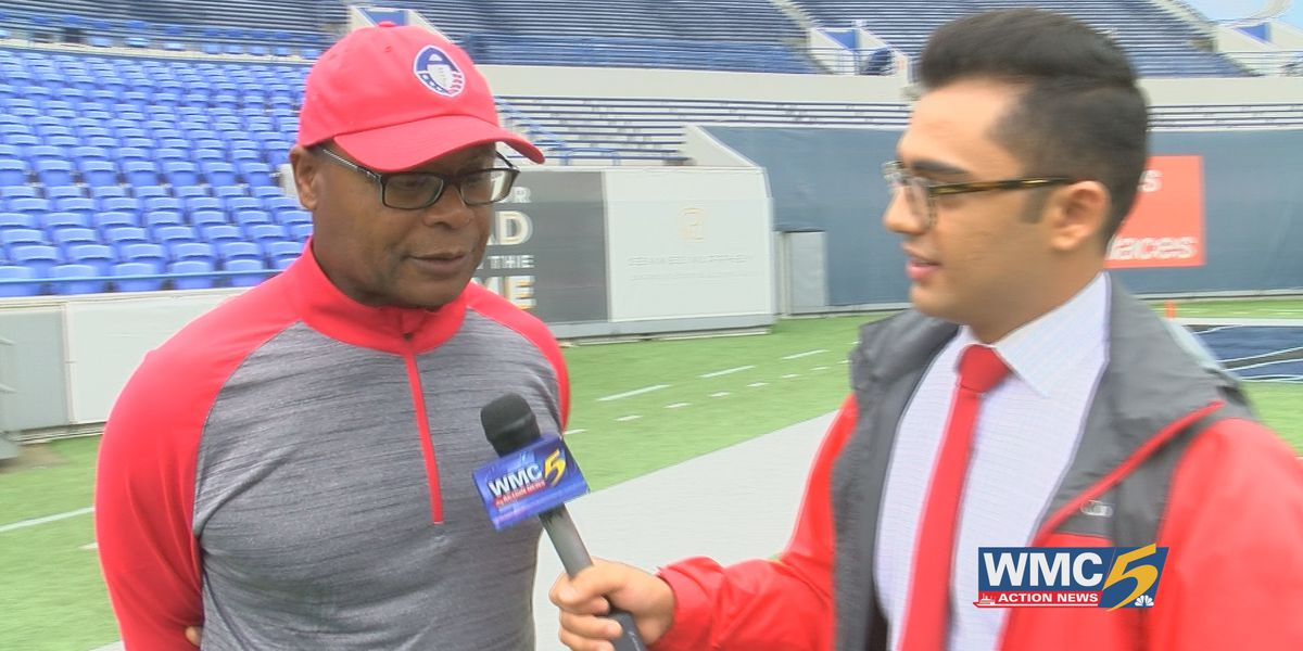Mike Singletary embracing new challenge with Memphis Express