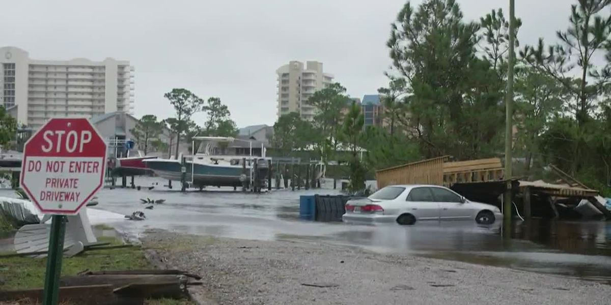 Residents ravaged by flood waters in Sally's path