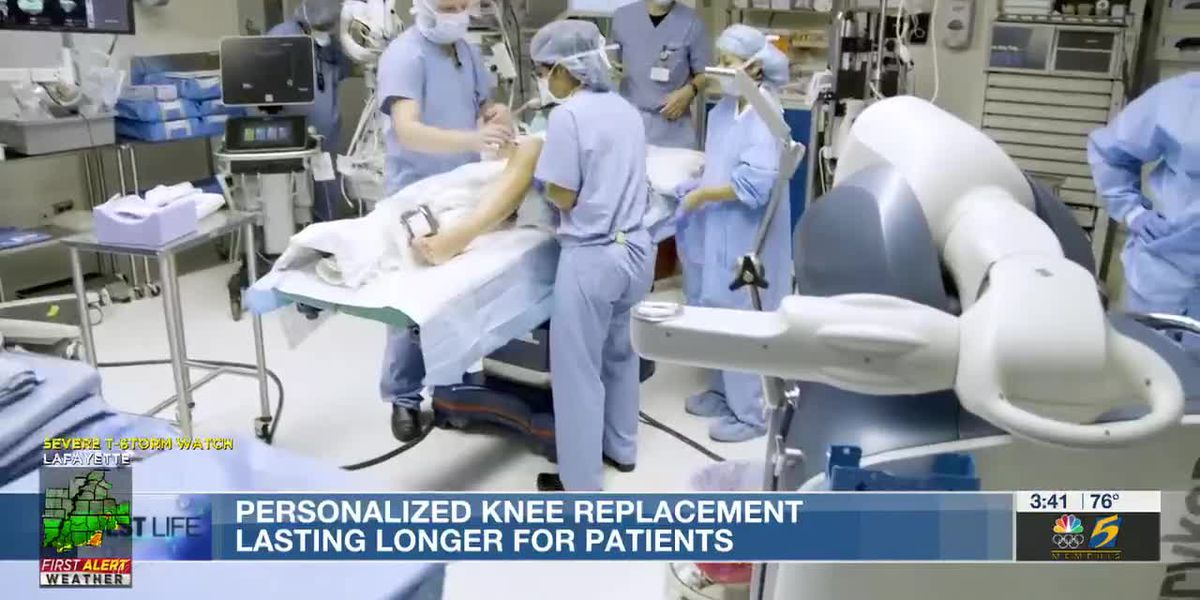 Best Life: Personalized knee replacements lasting longer for patients