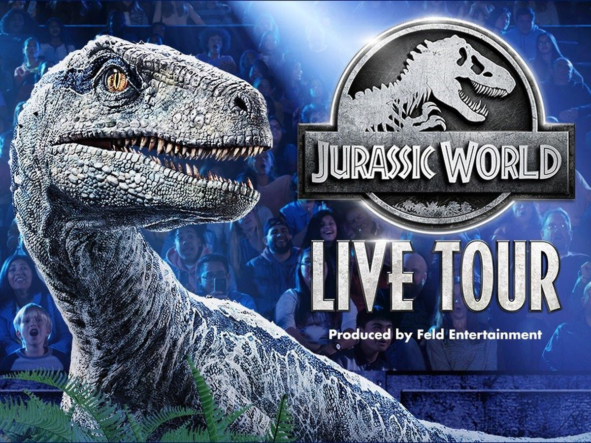 Enter for a chance to win a 4-pack of tickets to Jurassic World Live!