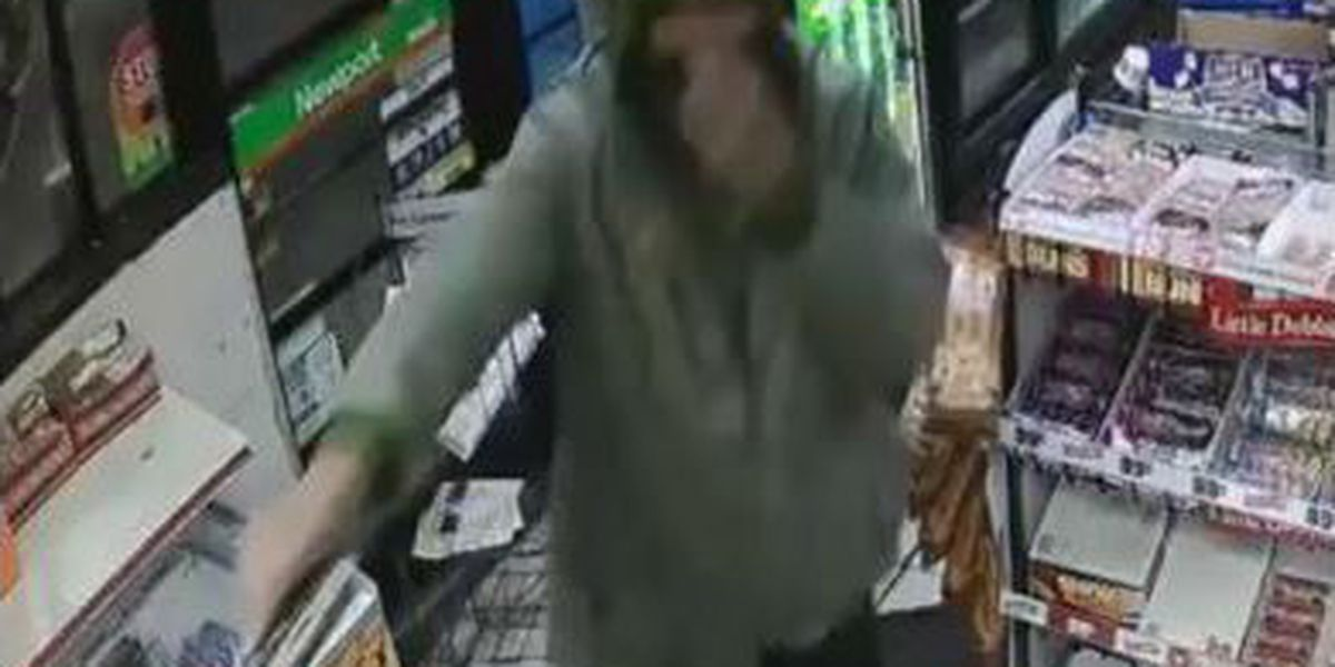 FBI searching for suspect in gas station robbery