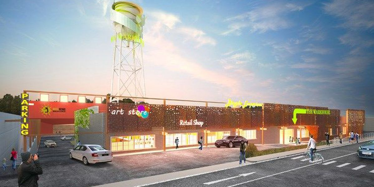 Plans announced to renovate vacant warehouse on Broad Avenue