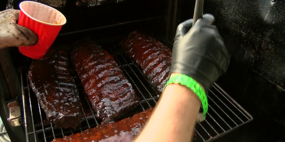 How to get samples at World Championship BBQ Cooking Contest