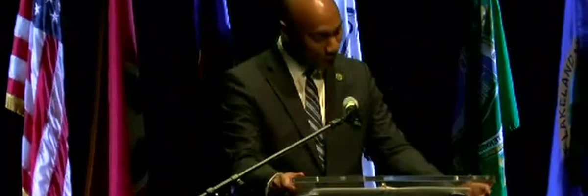 Mayor Lee Harris delivers his second 'State of the County' address
