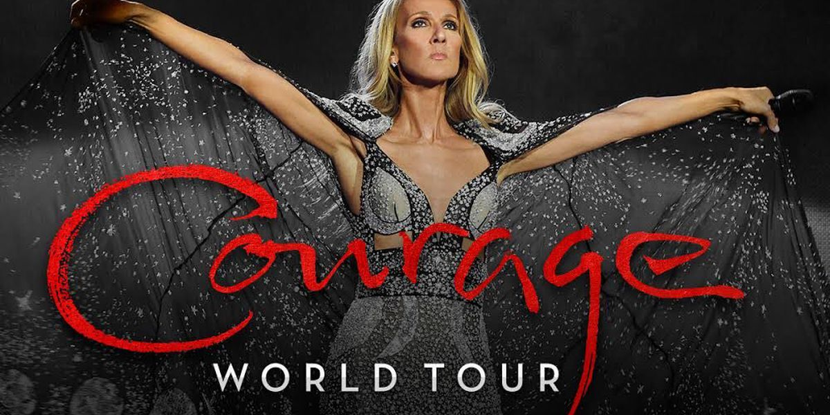 Celine Dion brings 'Courage Tour' to Memphis in 2020