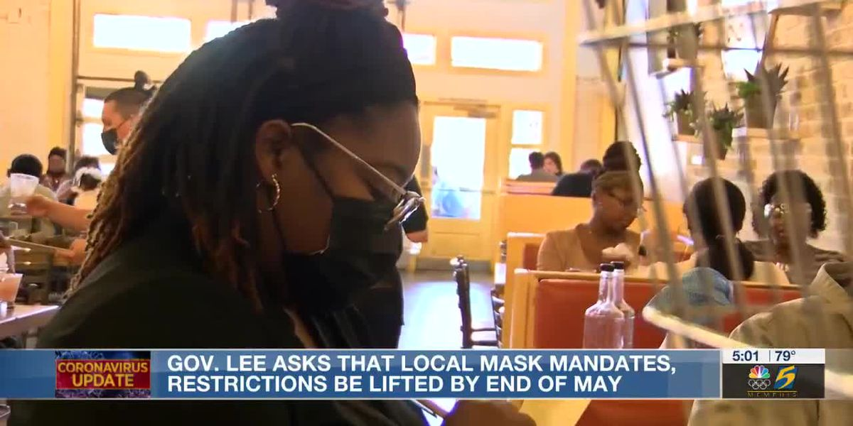Gov. Lee asks that local mask mandates, restrictions be lifted by end of May