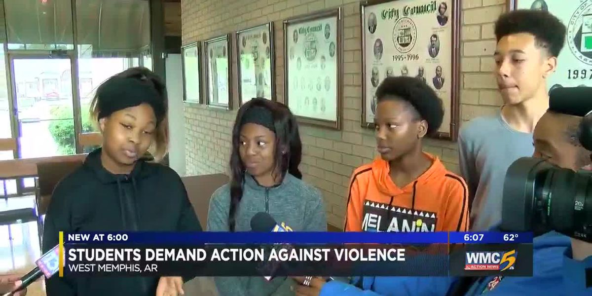 Students demand action against violence