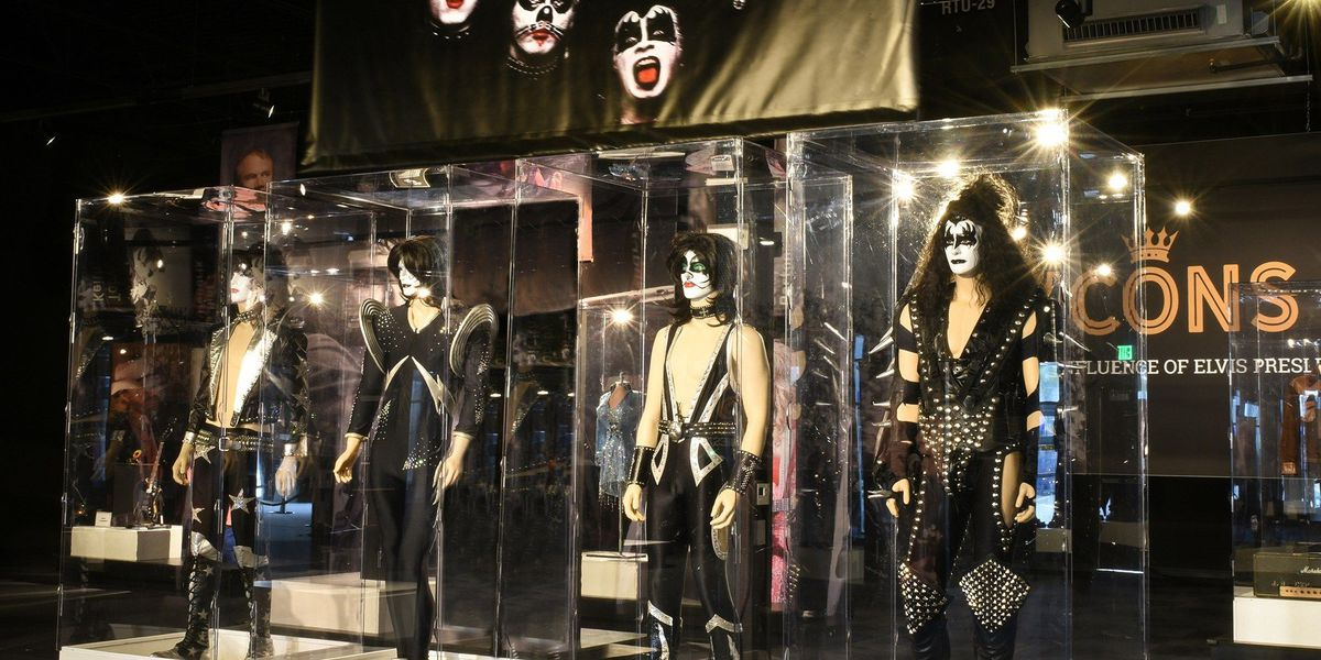 KISS costumes, instruments on display at Graceland