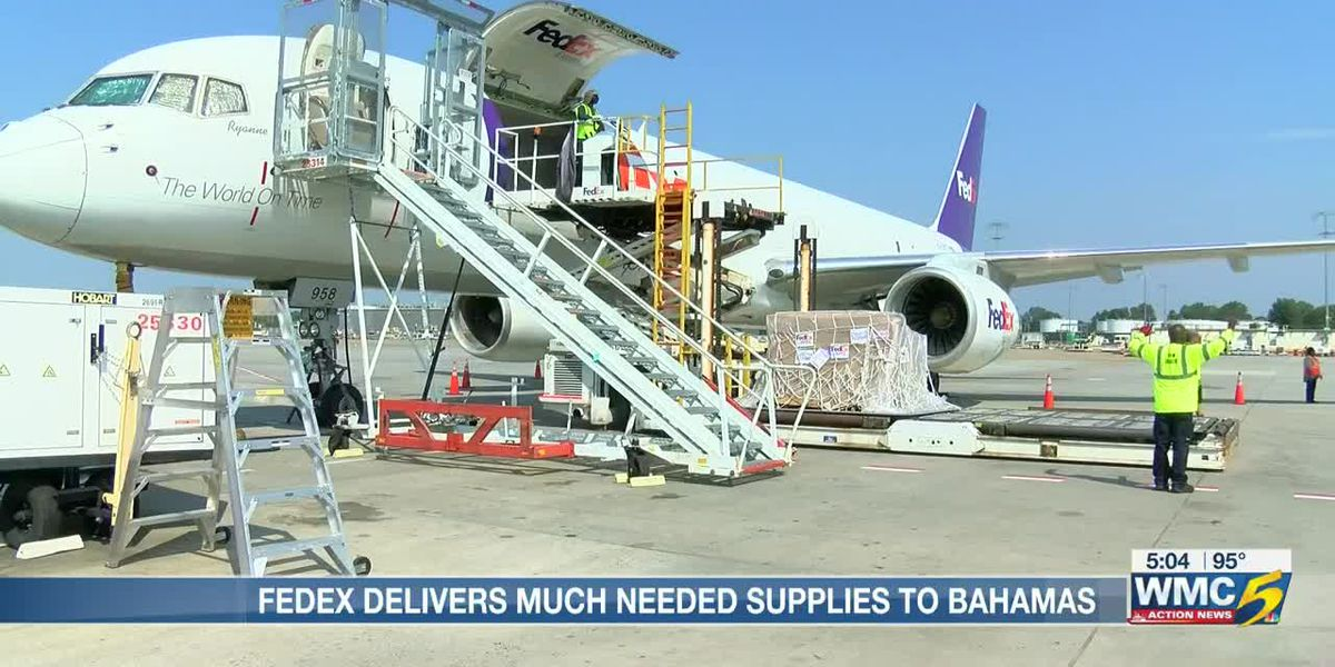 FedEx sends disaster supplies to storm ravaged Bahamas