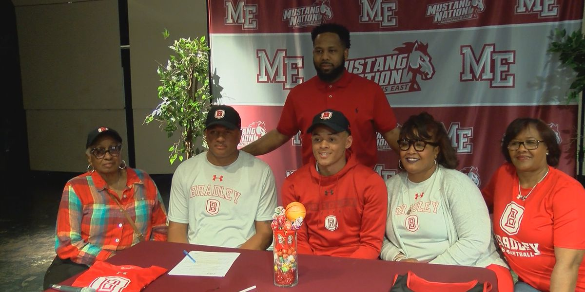 East High's Antonio Thomas signs with Bradley