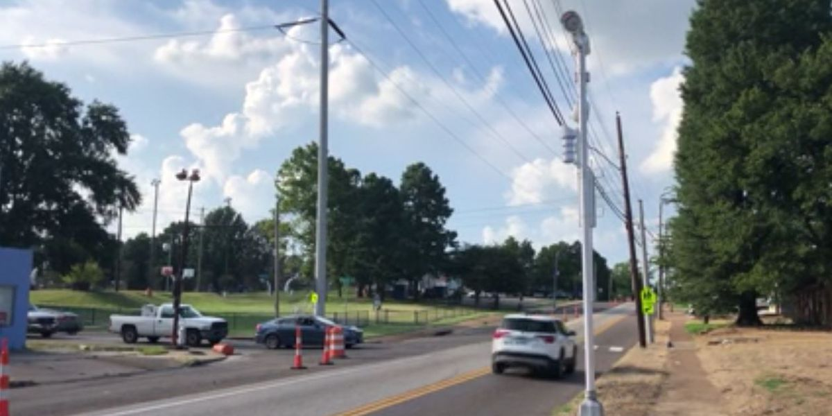 15 new speed cameras monitoring school zones across Memphis; tickets are $50
