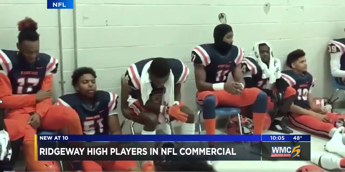 Ridgeway High players featured in NFL commercial