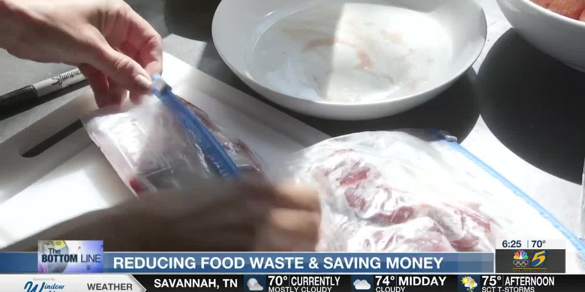 Bottom Line: Reducing food waste and saving money