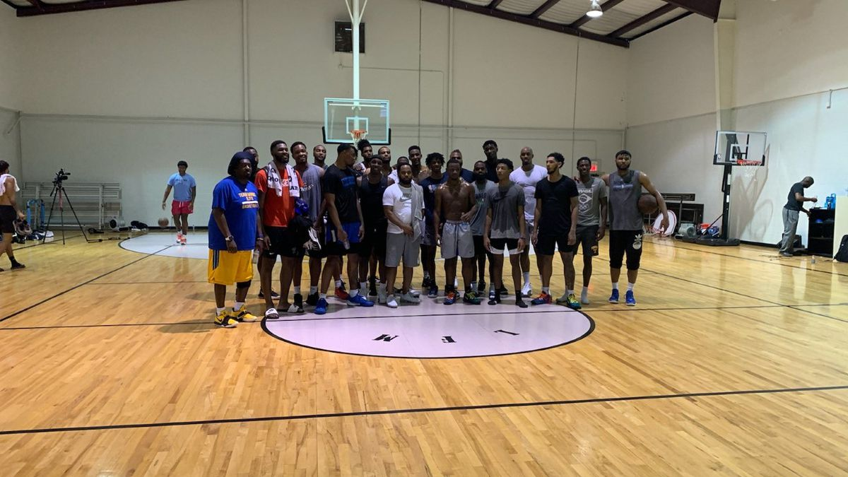 Top Memphis basketball players from all levels play -- the ultimate hoops session