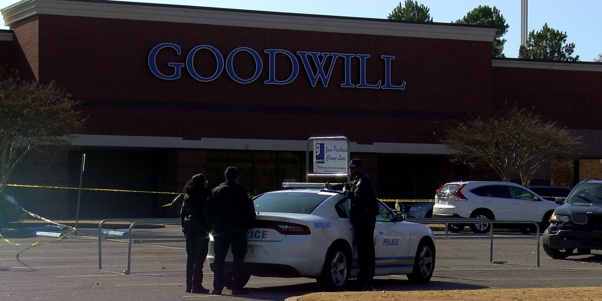 Man shot, killed outside Goodwill