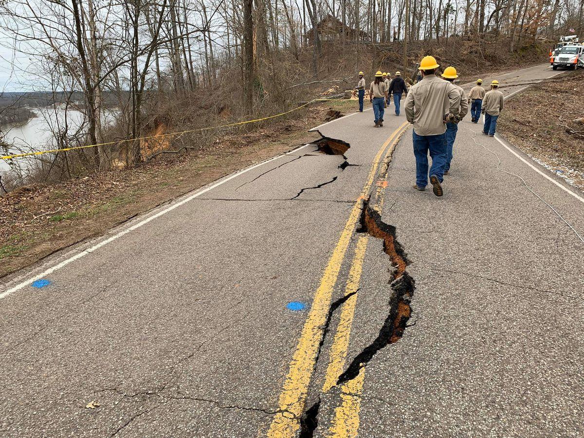 Road in Hardin Co. remains closed following weekend landslide