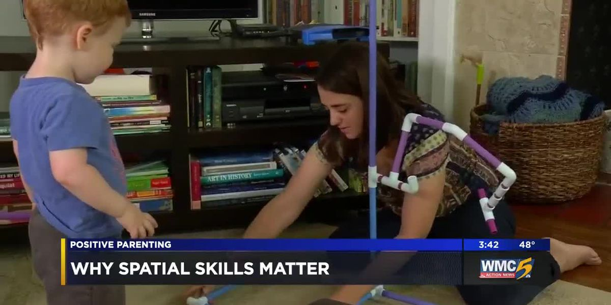 Positive Parenting: Why spatial skills matter
