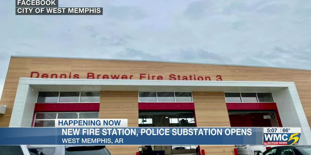 City of West Memphis, WMFD celebrate grand opening of new fire station