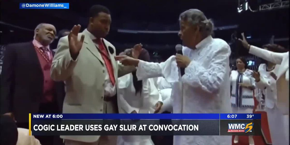 Cogic leader uses gay slur at convocation
