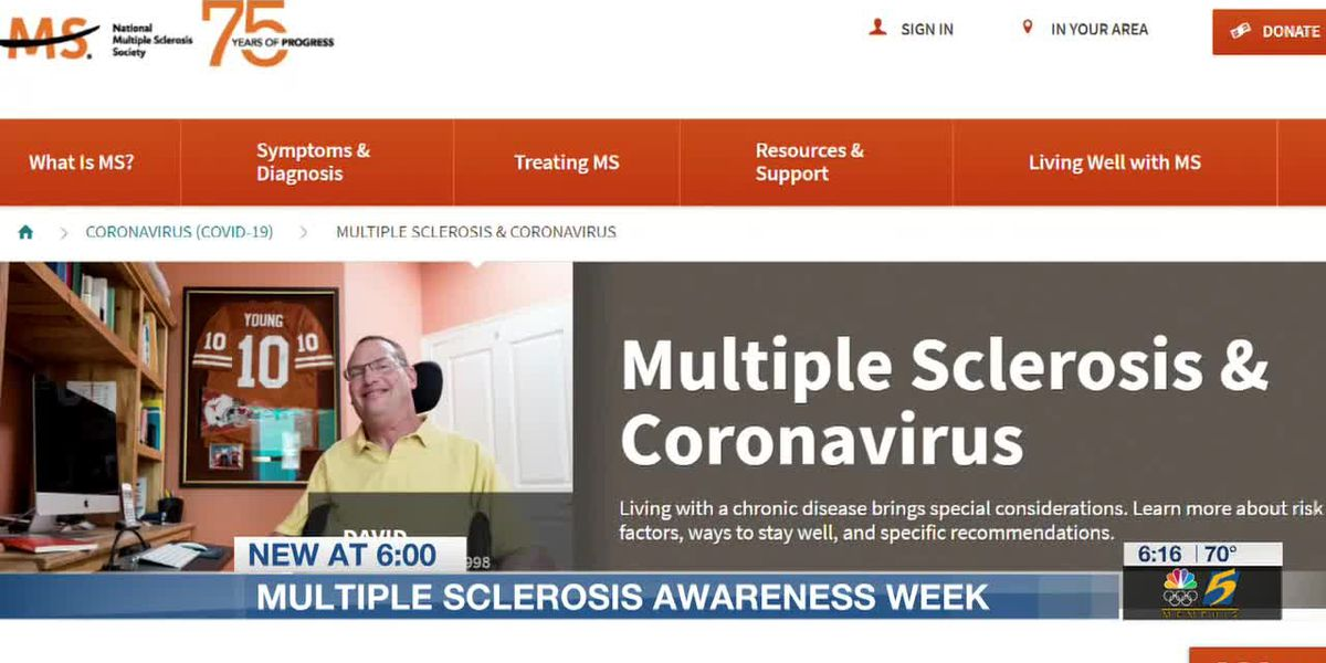 National Multiple Sclerosis Society honors MS week with annual walk