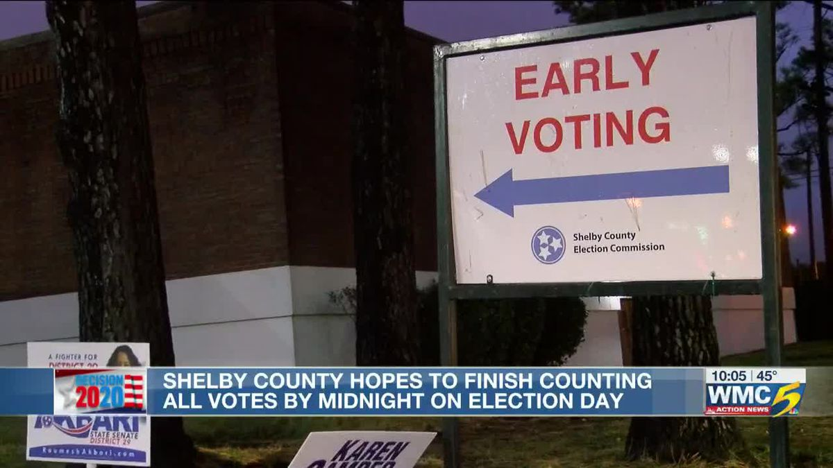 Fewer absentee ballots expected in Shelby County; expect more timely election results